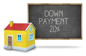 20% down payment