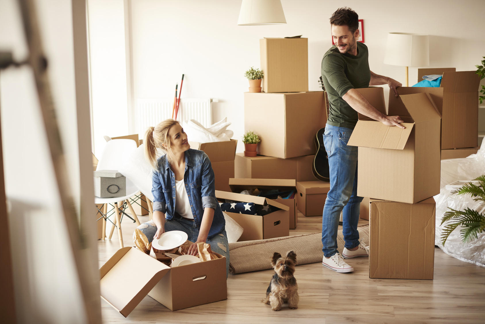 How to Prepare Yourselves to Move Into Your New House